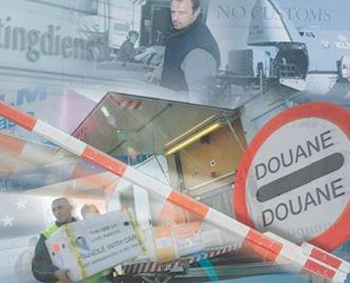 Douane vorex logistics for Douane engels